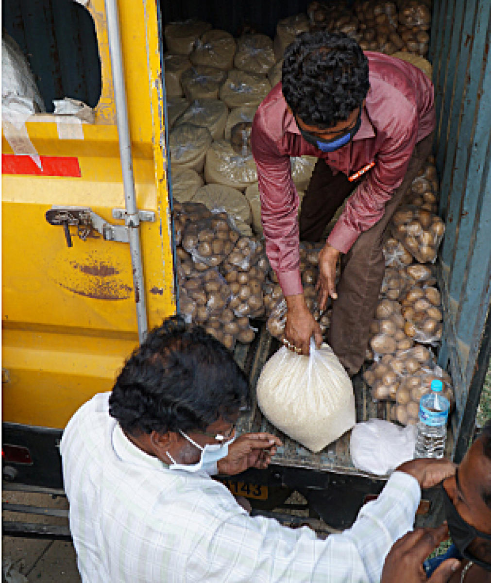 BBMP Food delivery to doorstep