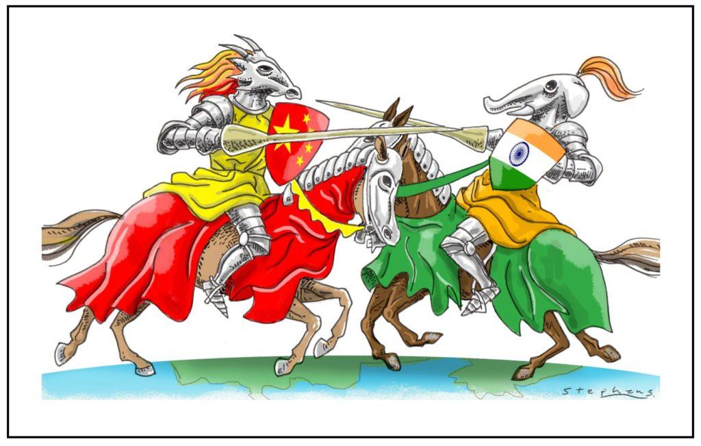 China vs India