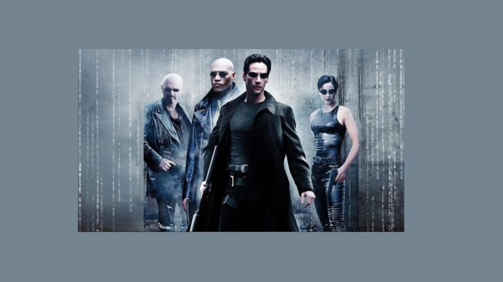 The Matrix old poster