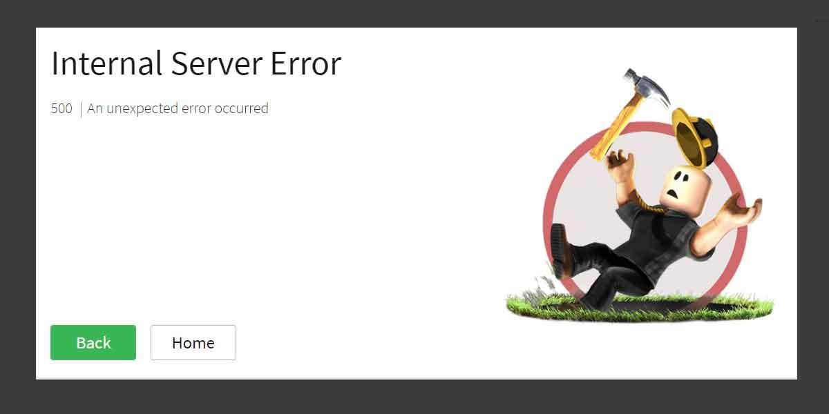 Roblox Error Code 500