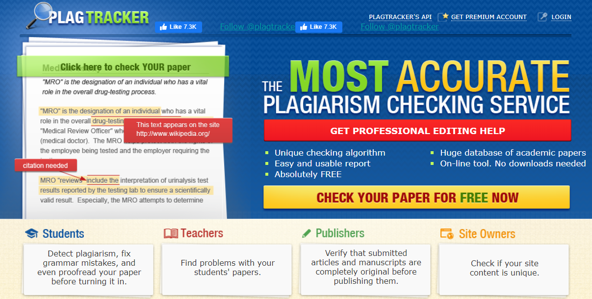 PlagTracker, Copyright checker, plagiarism checker,plagarism detector, plagarism detector free, plagarism detect