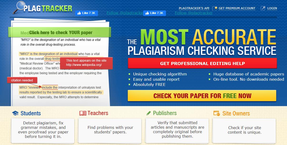 PlagTracker, Copyright checker, plagiarism checker,plagarism detector, plagarism detector free, plagarism detect