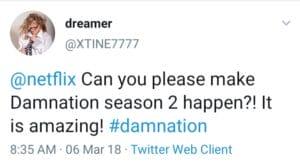 Tweet for Damnation 2