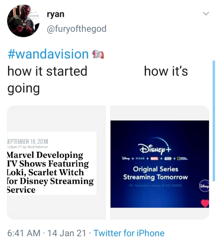 Wandavision meme