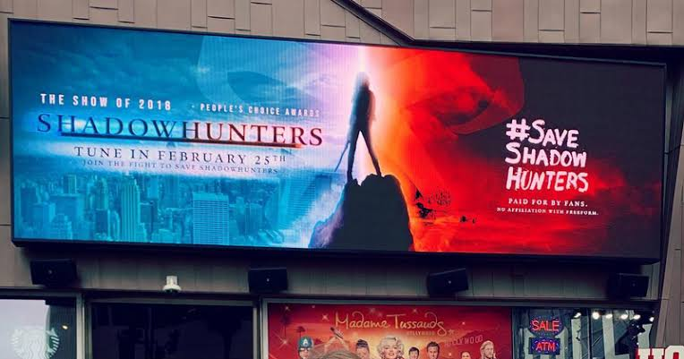 Billboard poster for Shadowhunter