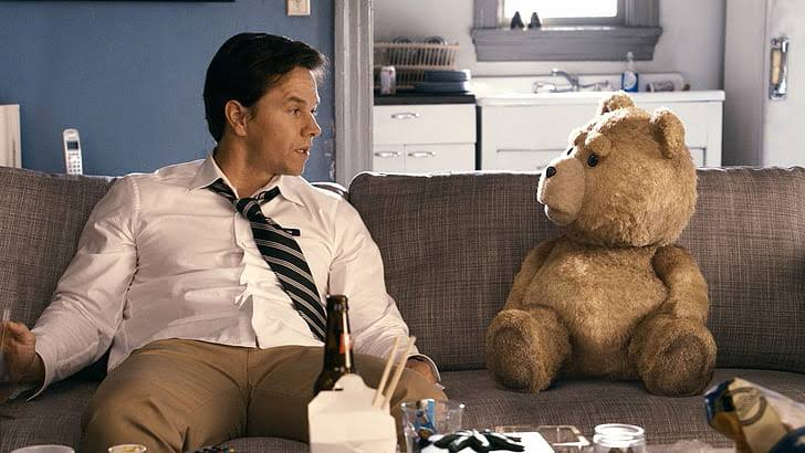 Ted and john friendship