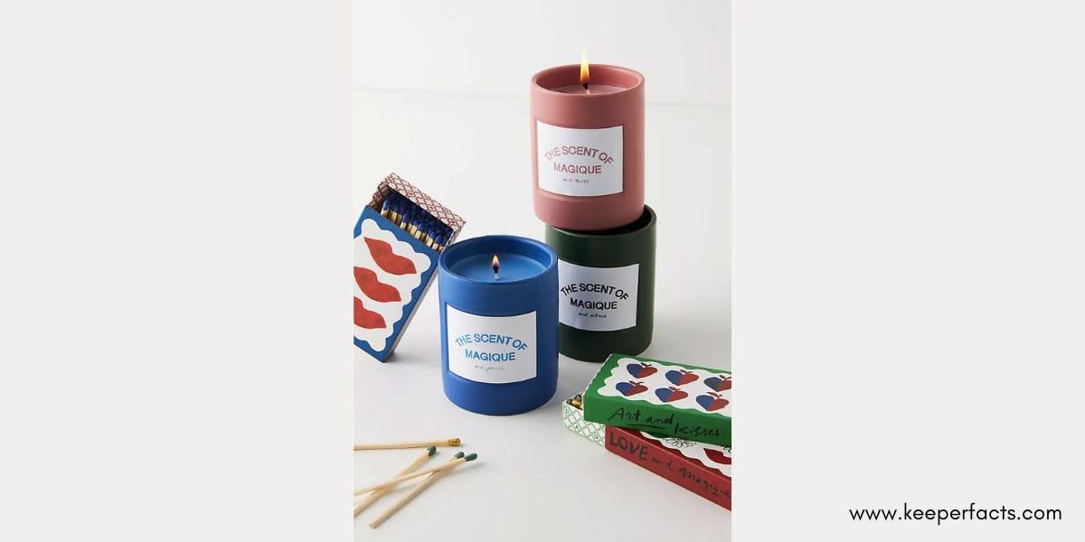 Magique Boxed Candles.