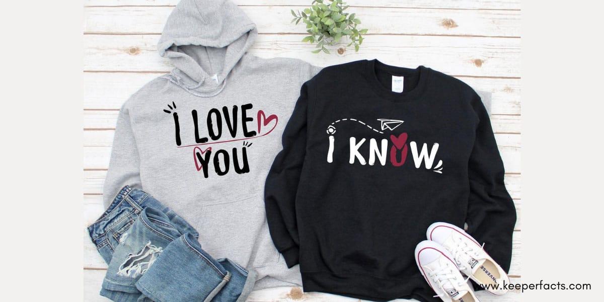 Couples Sweatshirt