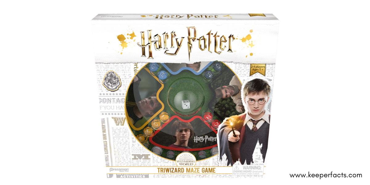 Harry Potter Maze Game