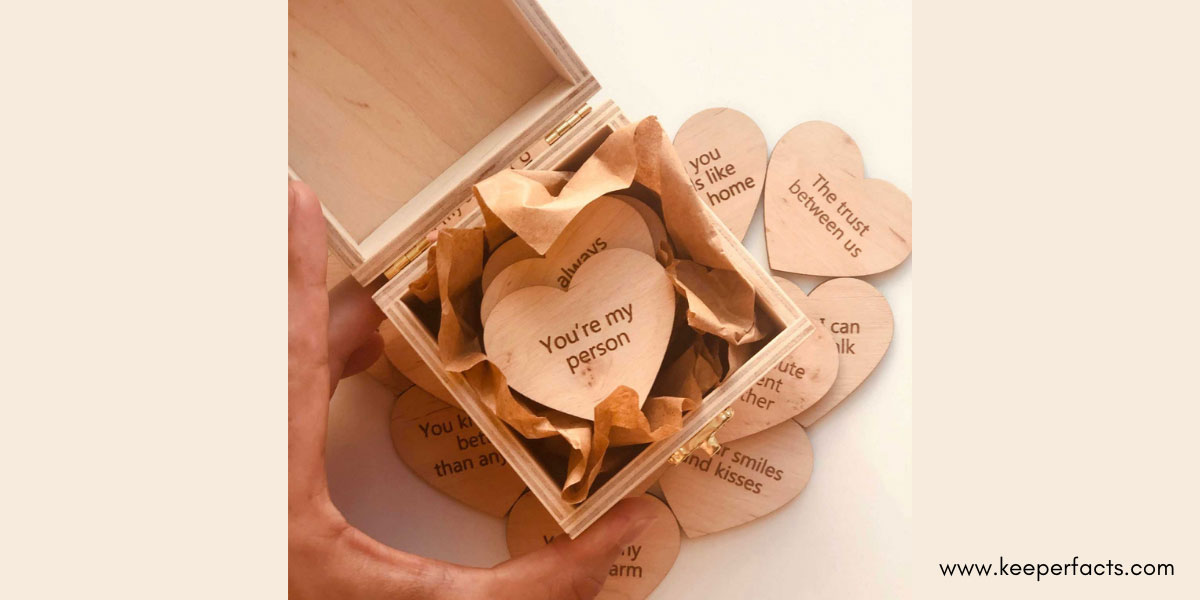 Reason why I Love You box