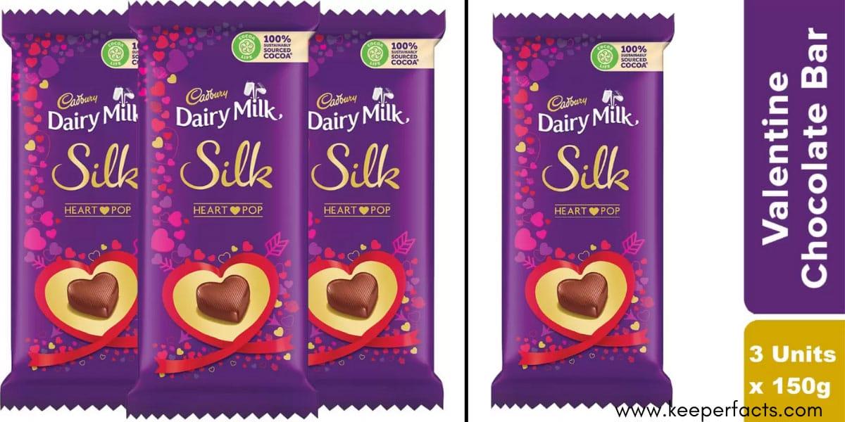 Cadbury Dairy Milk Silk Valentine Chocolate Bar