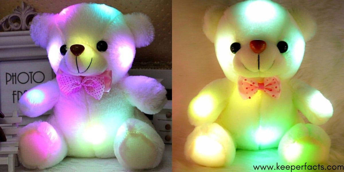 Night Light LED Flash Teddy Bear
