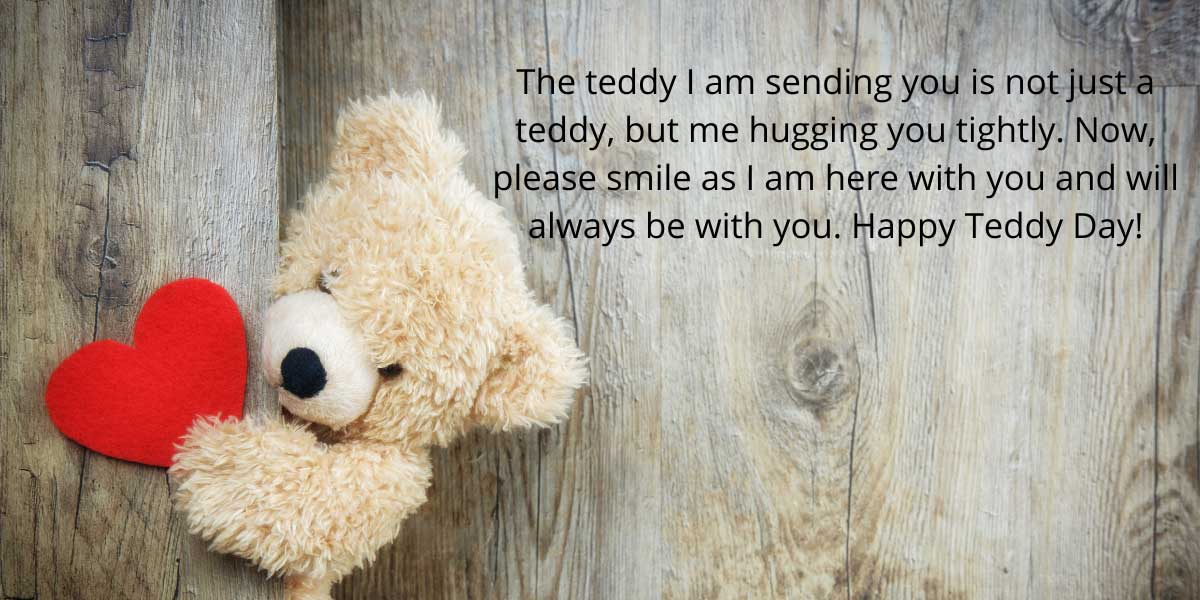 best teddy day quote
