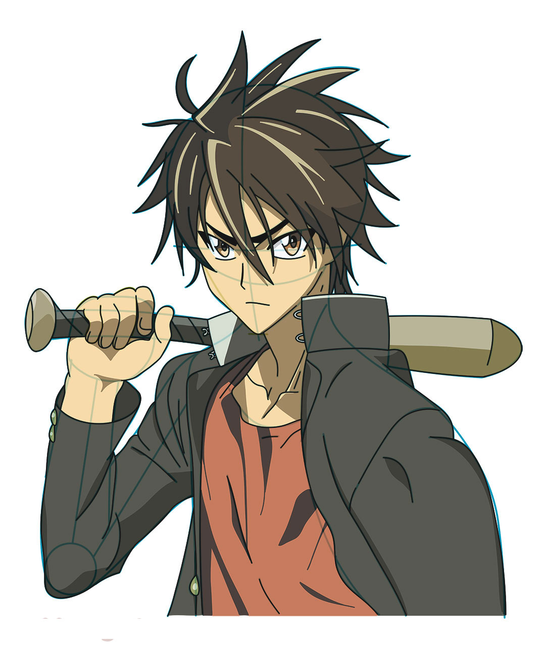 High school of the dead characters
