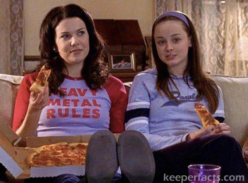 Gilmore girls and food