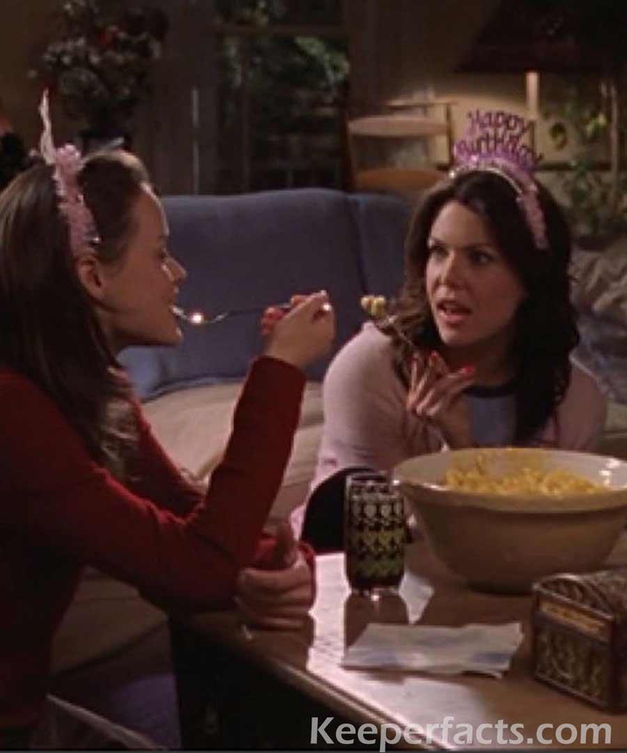 Gilmore girls birthday celebration