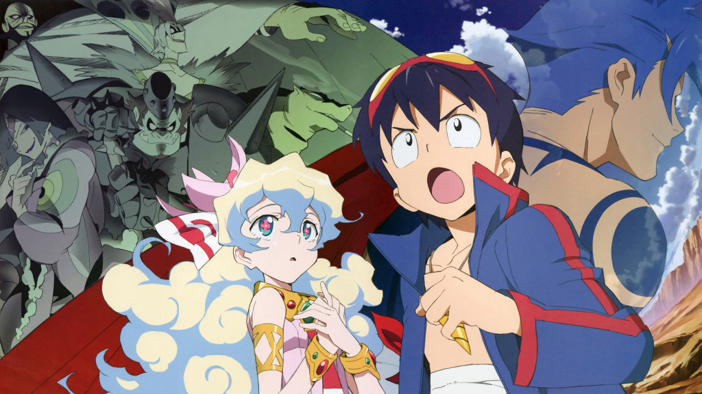 Gurren Lagann Season 2: Will Gimmy and Darry Save the Nation?