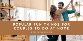 Popular Fun Things For Couples To Do At Home
