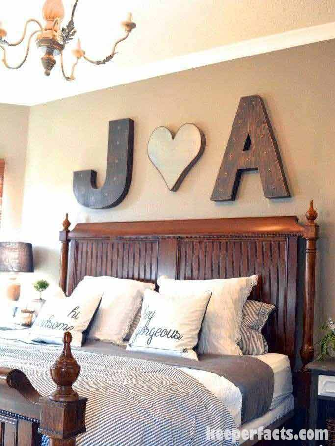 Room makeover for couples