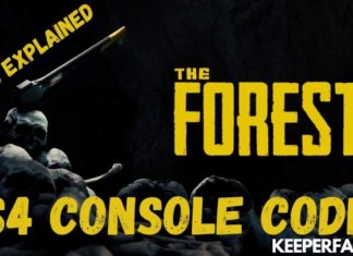 The Forest Cheats for PS4