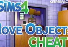 Sims 4 Move objects Cheat