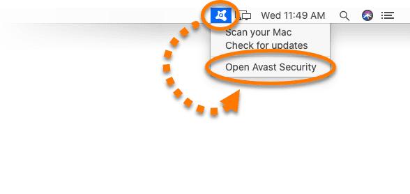 uninstall avast from Mac