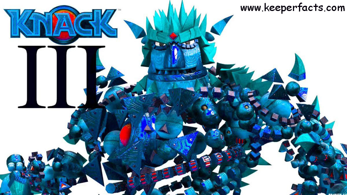Knack 3: When will it load on the PlayStation 5?  What about the release?  To update!