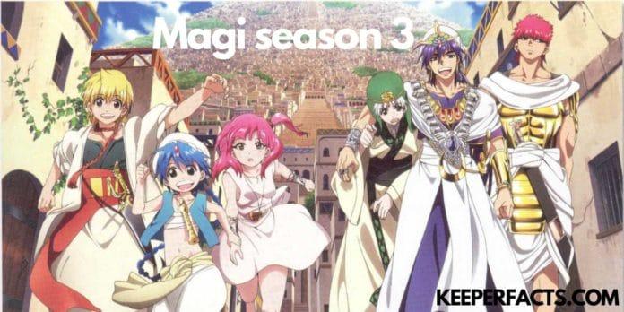 Magi Season 3