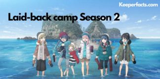 laid-back camp season 2