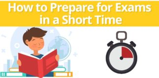 How to Prepare for an Exam in a Short Time?